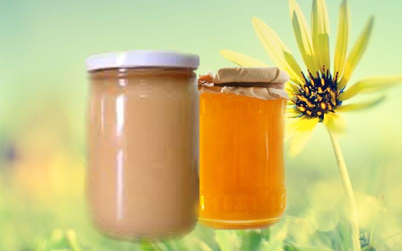 Mật ong kết tinh đóng đường