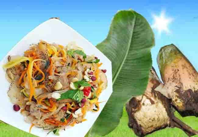 Món ăn thực dưỡng từ chuối rừng cô đơn